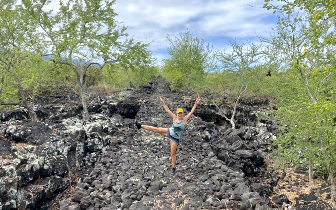 Hiking Adventure on the 1871 Trail in South Kona on Hawaii Island