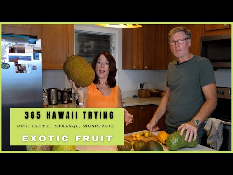 Trying Exotic Fruit In Hawaii
