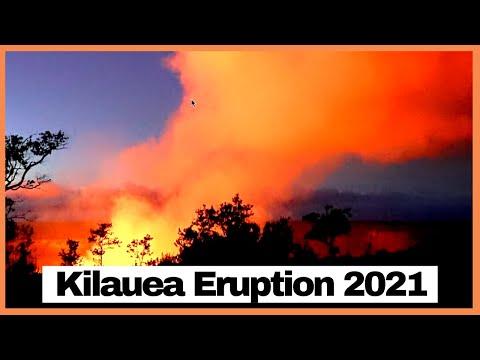 Kilauea Eruption from Sunset to Sunrise – September 2021