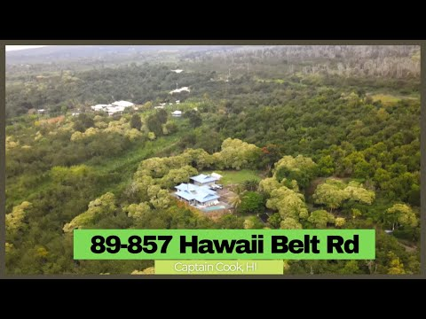 Remarkably RARE Opportunity to Own 28 Acres Farm Lands in South Kona