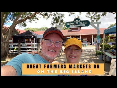 Great  Farmers Markets on the Big Island of Hawaii